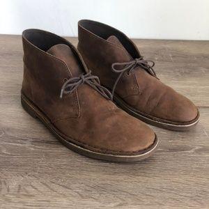 Clarks Chukka Leather Boots